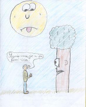 Poesie - Ecolier dans la lune ...